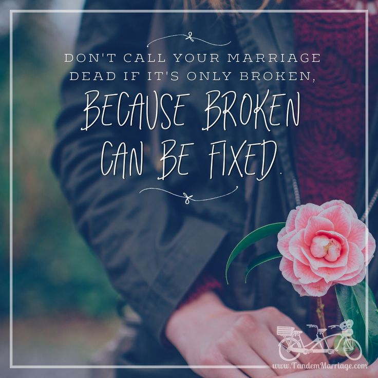broken can be fixed